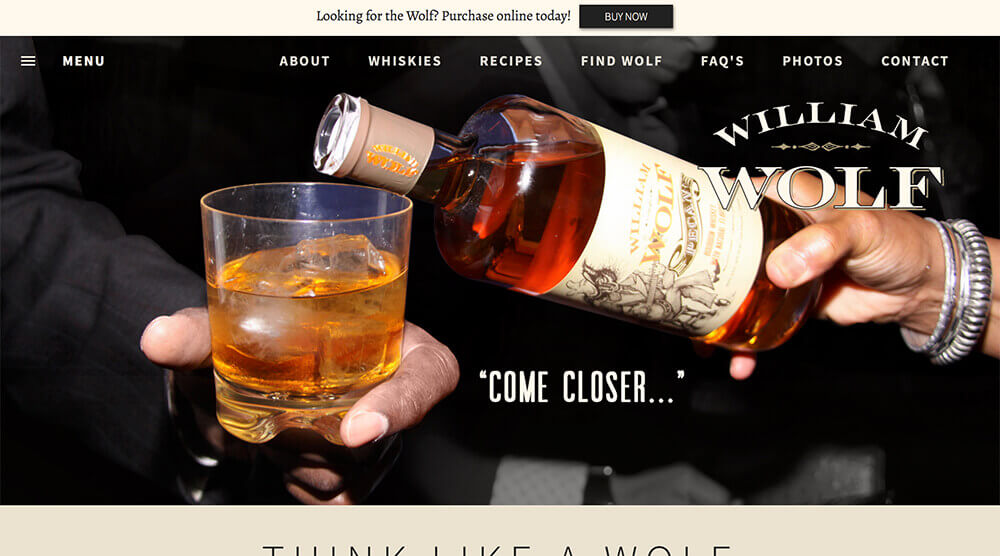 William Wolf Whiskey