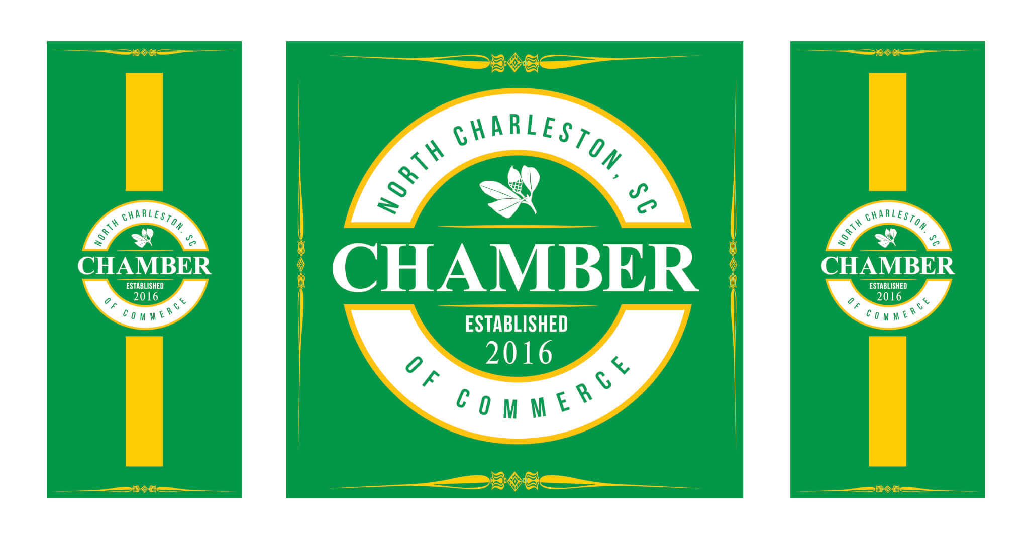 North Charleston Chamber Table Banner