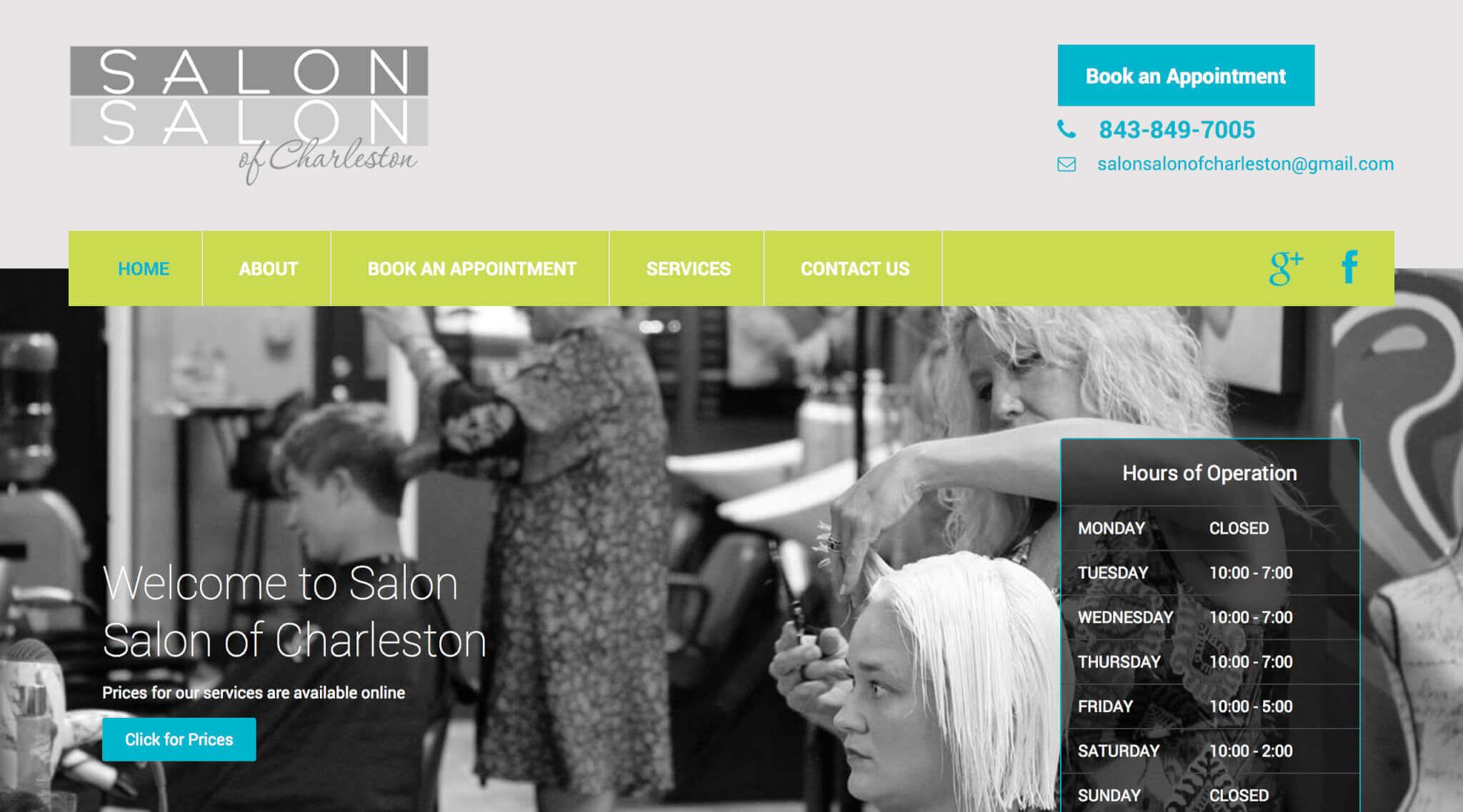 Salon Salon of Charleston