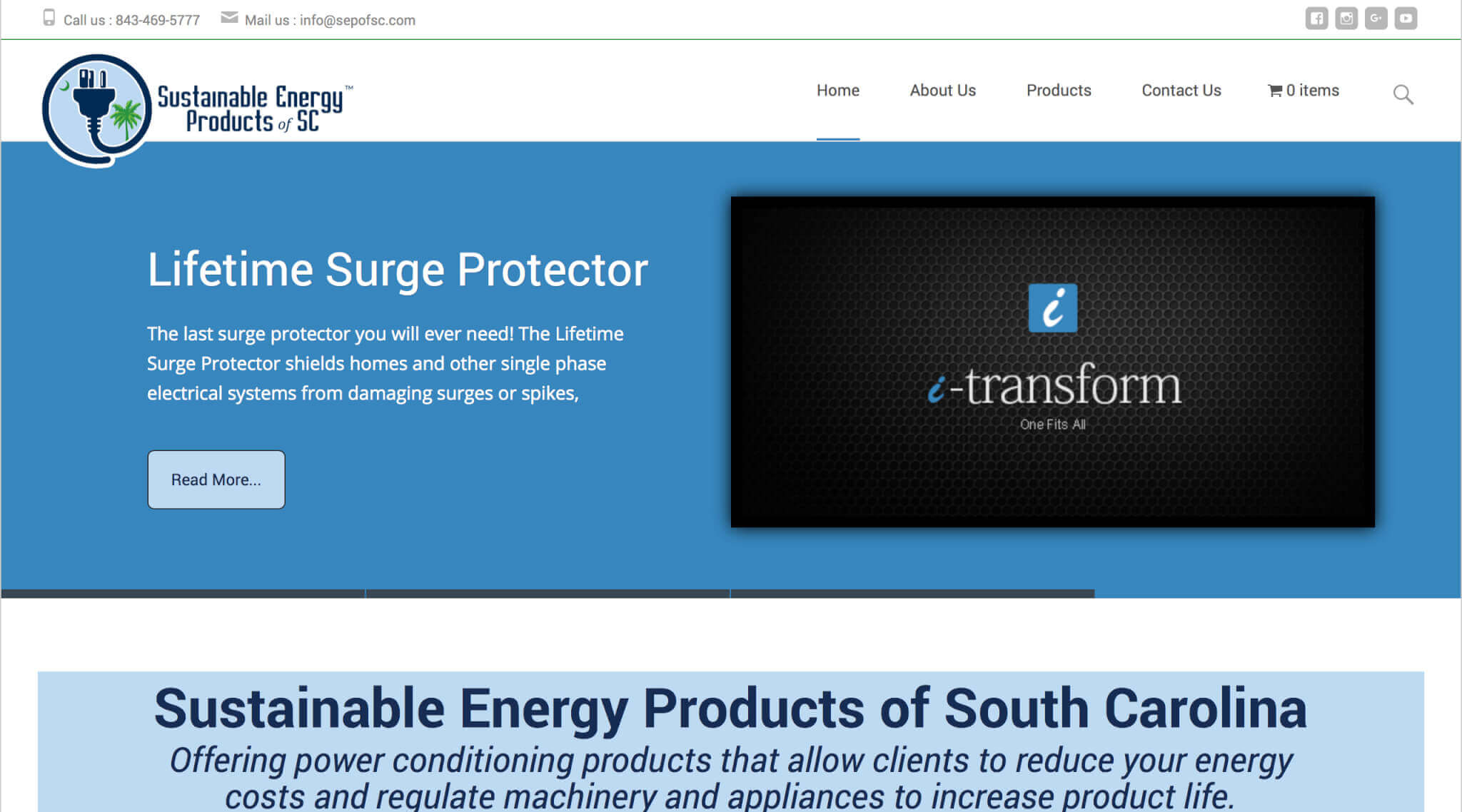 Sustainable Energy Products of SC