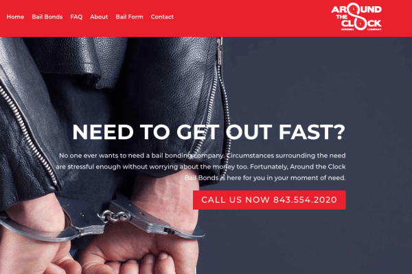 New Website: Around the Clock Bail Bonds