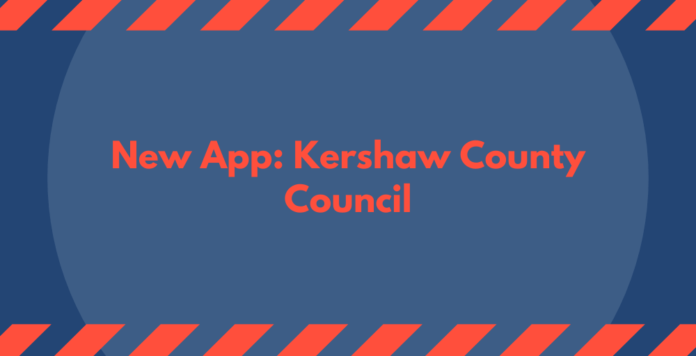 New App: Kershaw Country Council