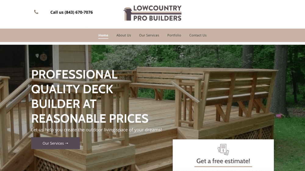 Lowcountry Pro Builders Home Page